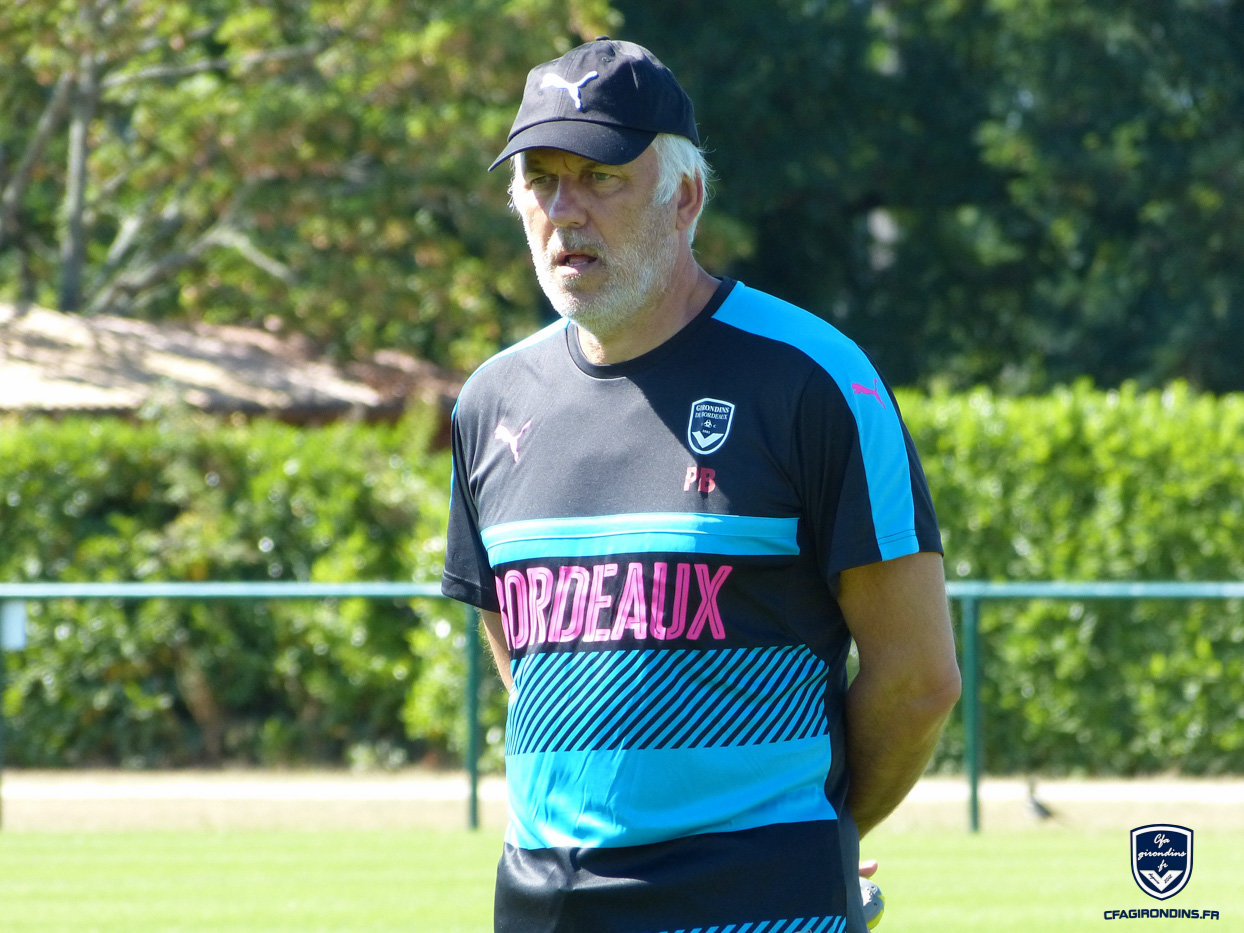Cfa Girondins : Patrick Battiston - « On espère que c'est parti » - Formation Girondins