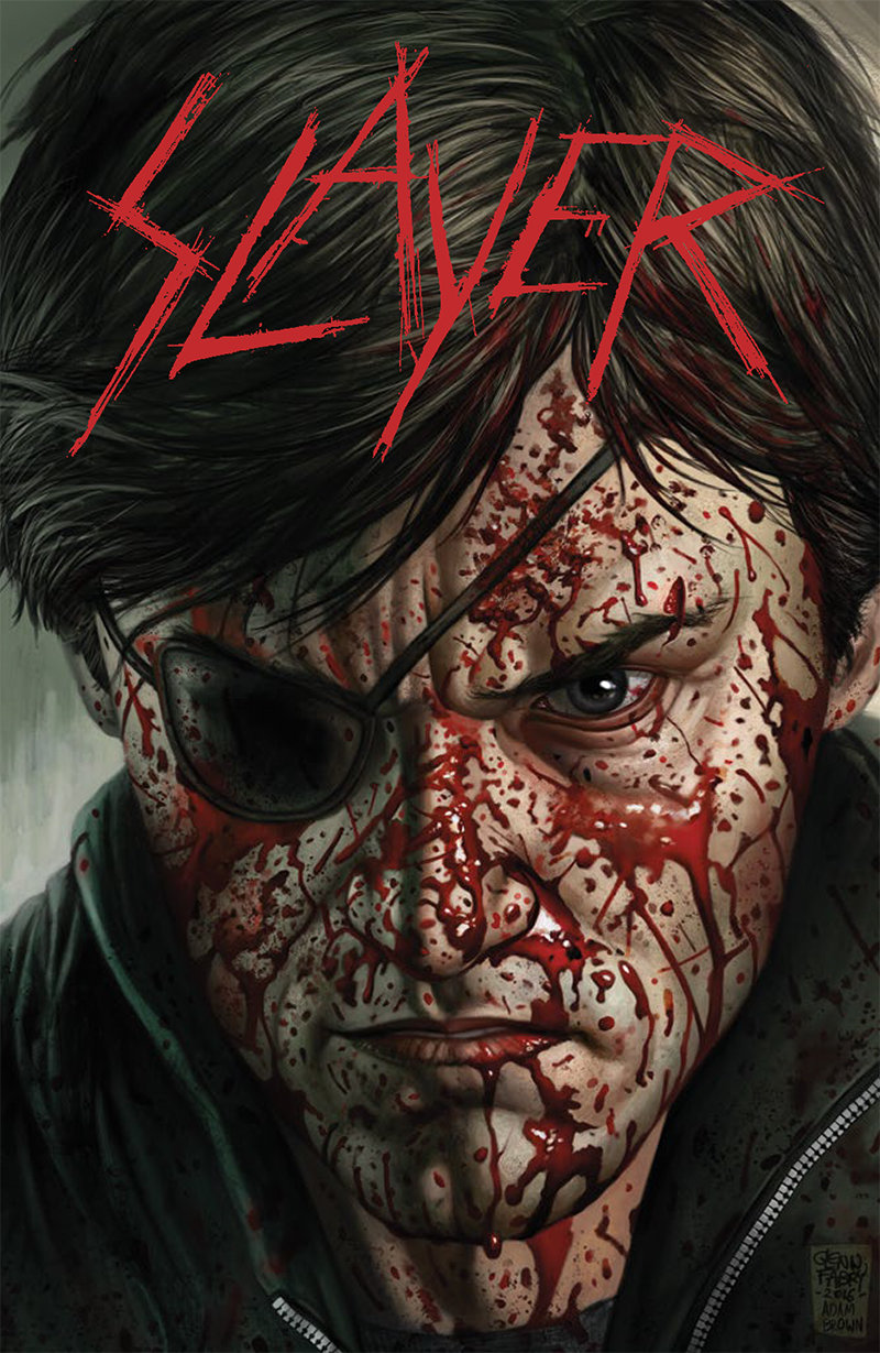 Slayer Comic Book