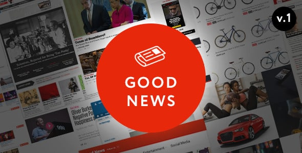 ThemeForest - Good News v1.1.7.2 - Multi-Niche Blog / Magazine WordPress Theme