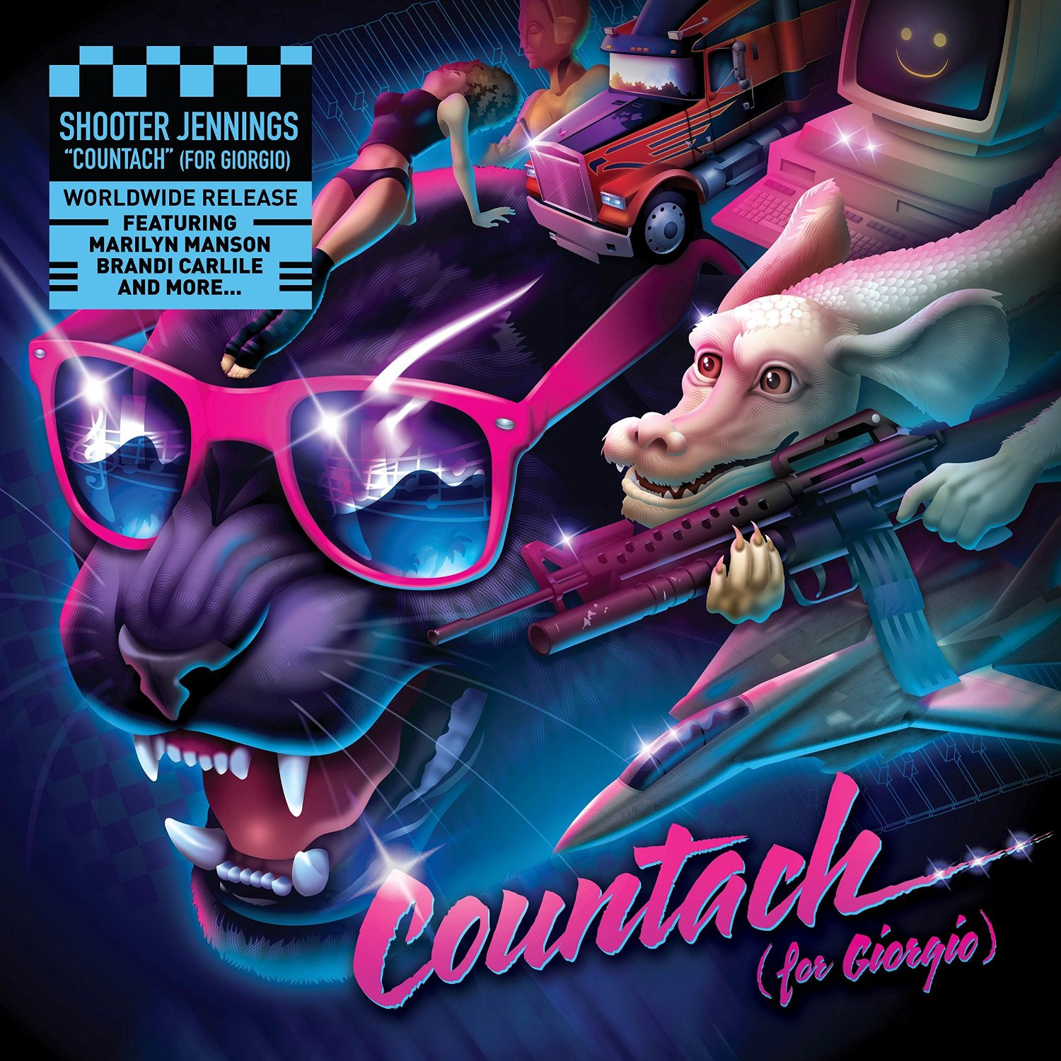 Shooter Jenkins : Countach (For Giorgio)