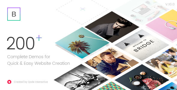ThemeForest - Bridge v10.0 - Creative Multi-Purpose WordPress Theme