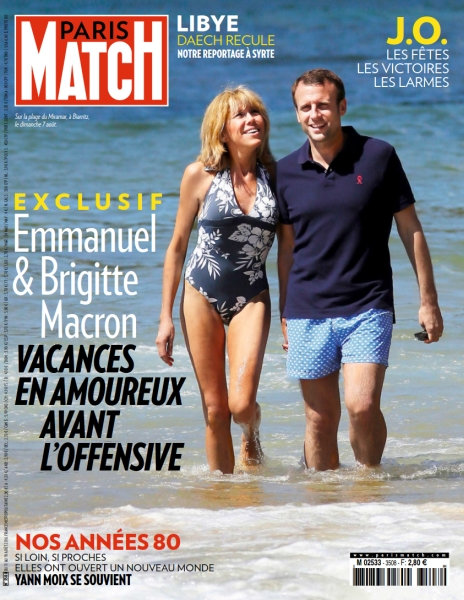 Paris Match No.3508 - 11 au 18 Août 2016