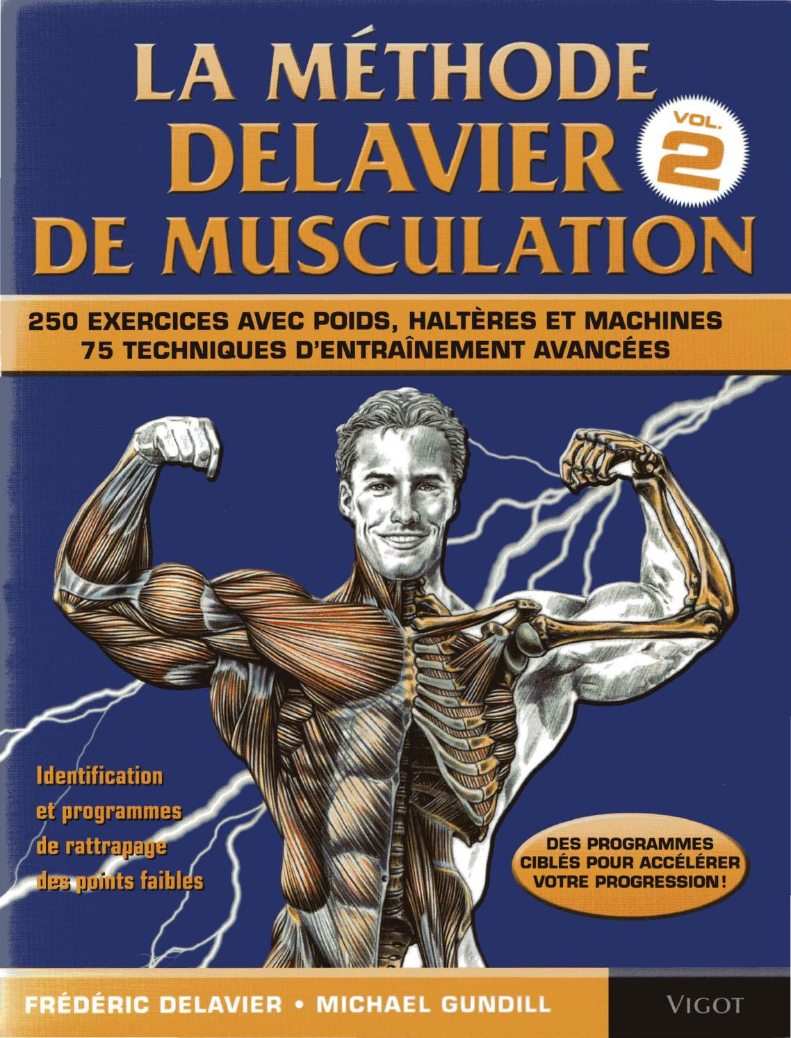 T l charger guide des mouvements de musculation delavier for Guide musculation