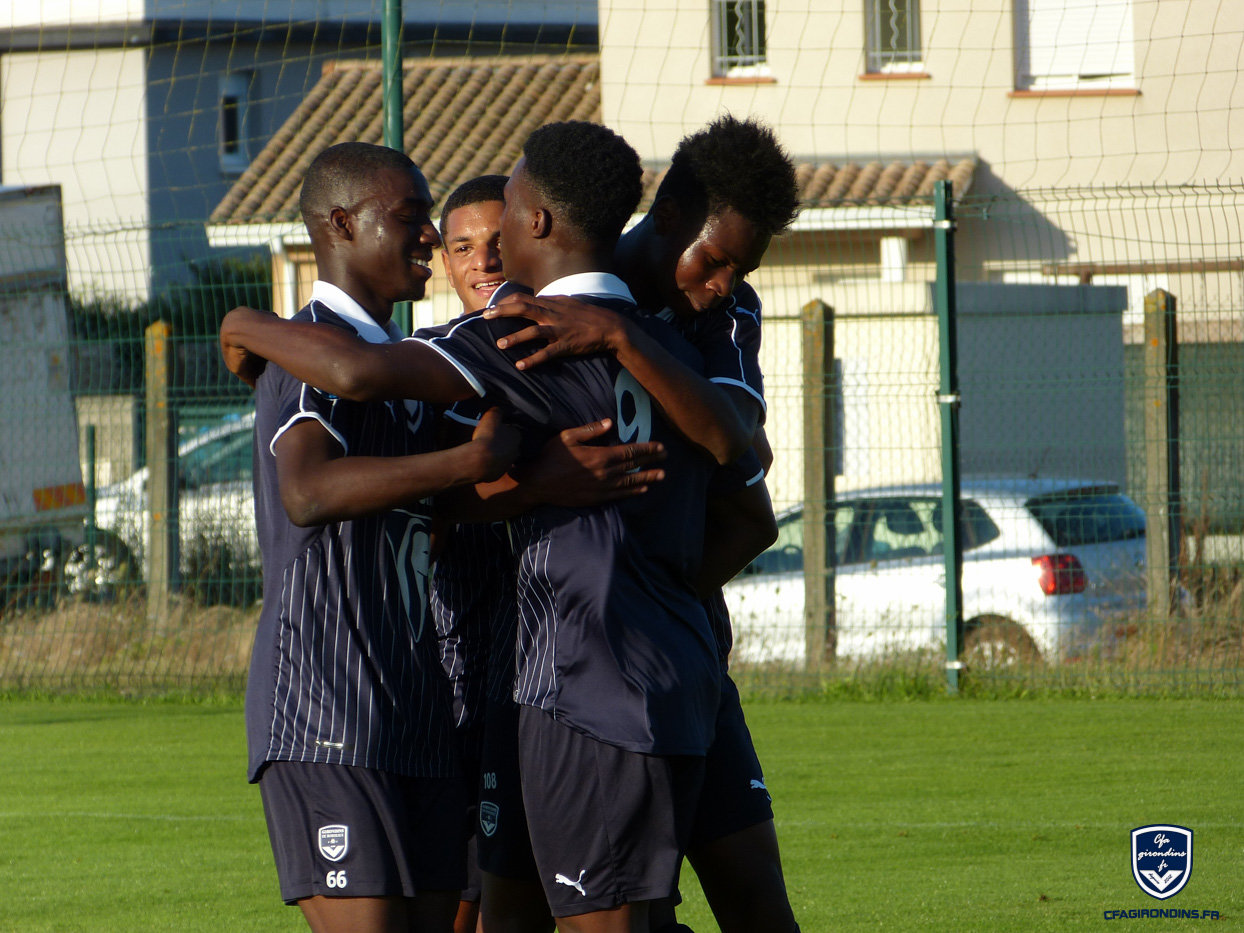 Cfa Girondins : Les photos du match amical Bordeaux - SA Mérignac - Formation Girondins