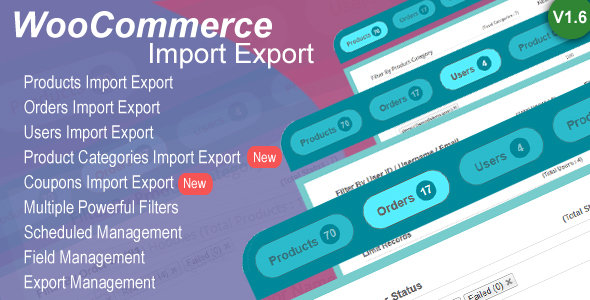 CodeCanyon - Woo Import Export v1.7.2 - WordPress Plugin