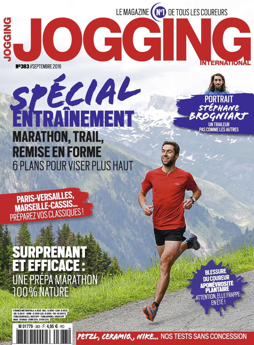 Jogging International N°383 - Septembre 2016