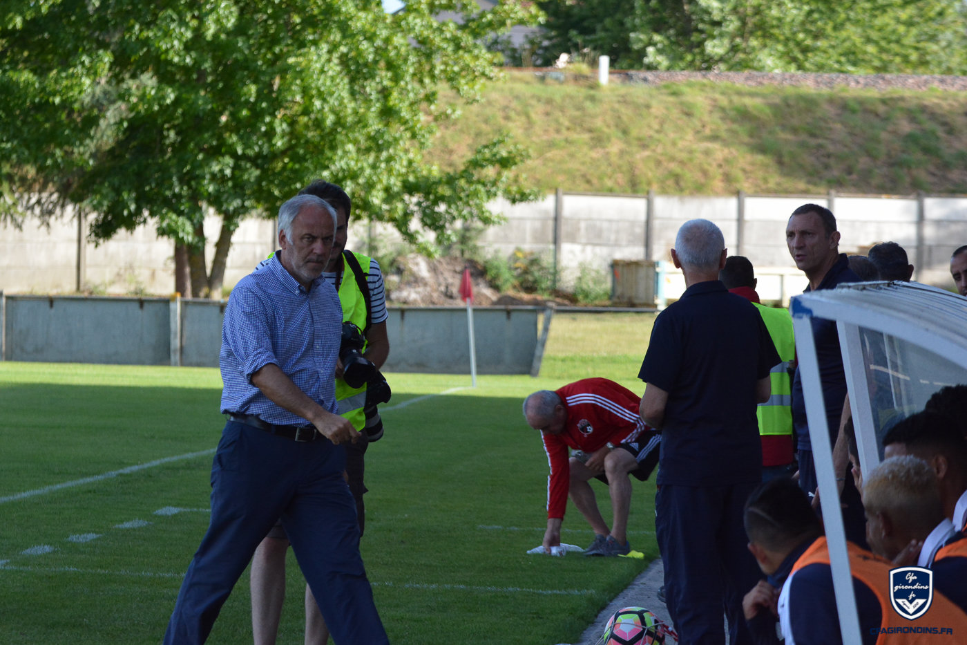 Cfa Girondins : Patrick Battiston - « Déplorable » - Formation Girondins
