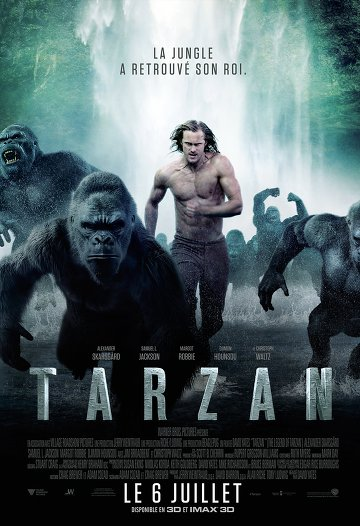 la légende de tarzan streaming