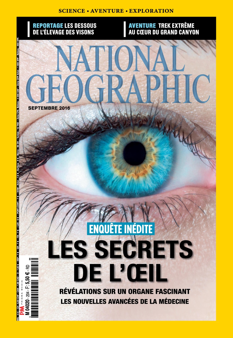National Geographic N°204 - Septembre 2016