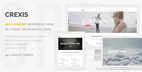 ThemeForest - Crexis v1.1.4 - Responsive Multi-Purpose WordPress Theme