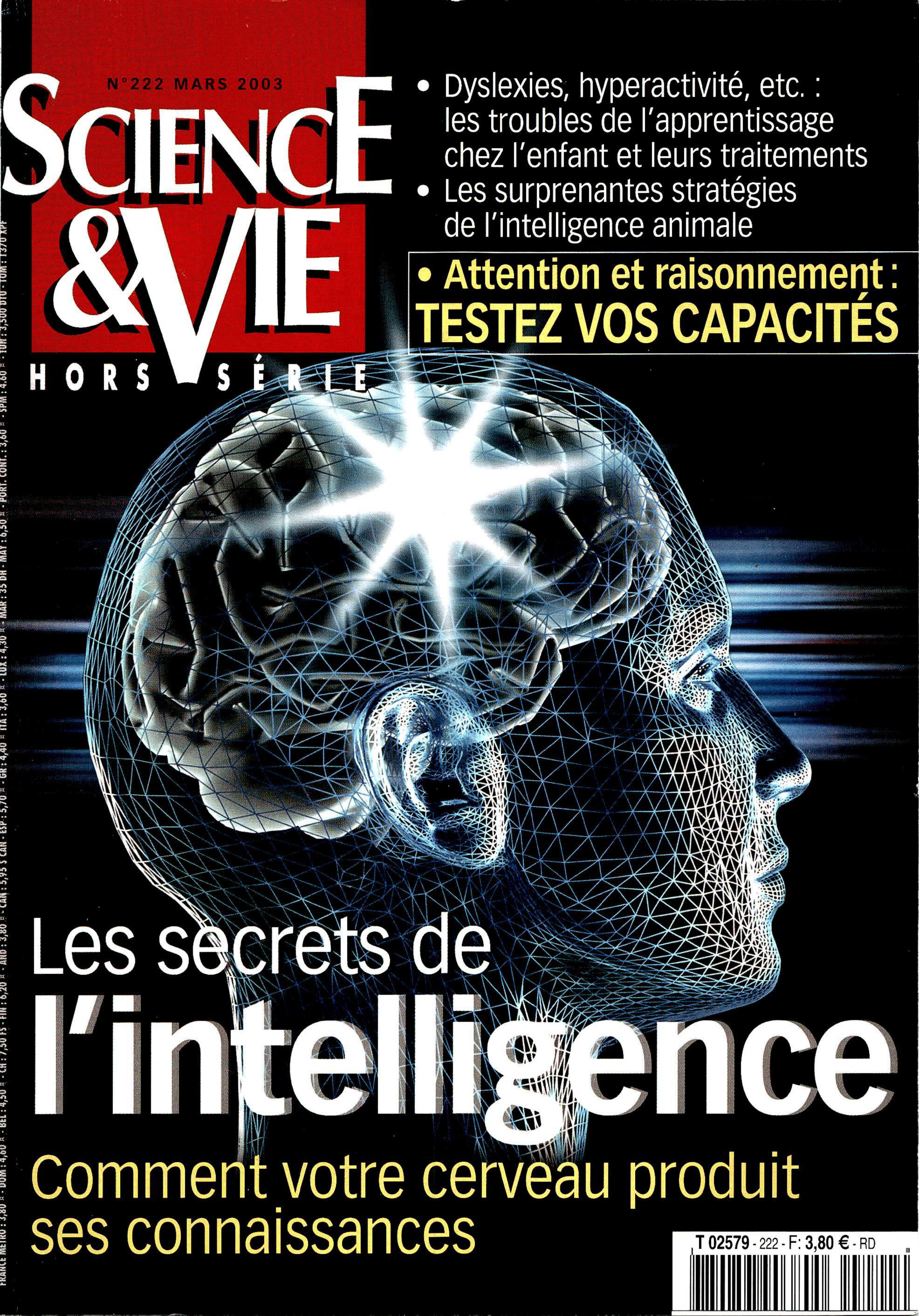 Science & Vie Hors-Série No.222 - Les secrets de l'intelligence
