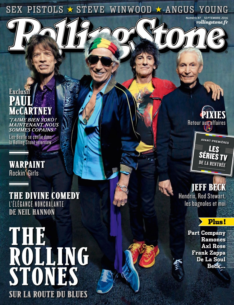 Rolling Stone N°87 - Septembre 2016