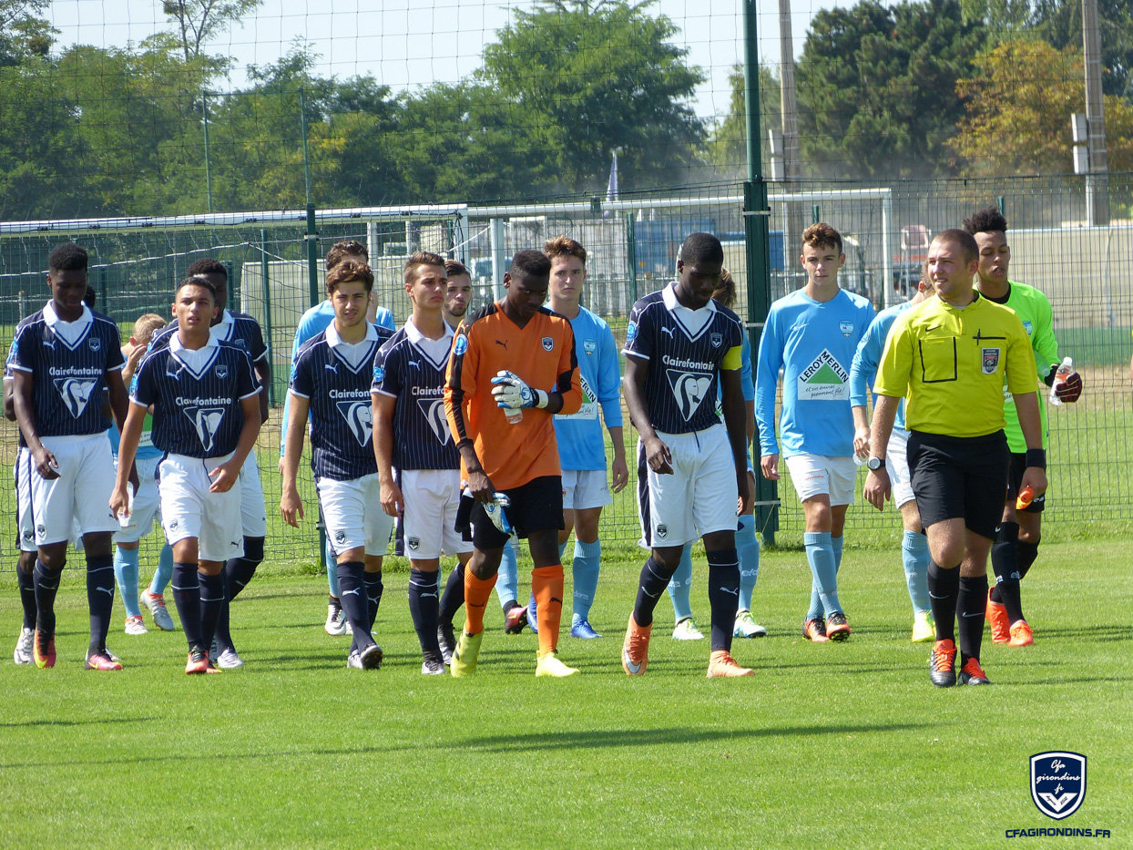 Cfa Girondins : Les photos de Bordeaux - Bayonne - Formation Girondins