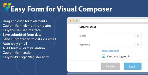 CodeCanyon - DHVC Form v1.4.14 - WordPress Form Plugin for Visual Composer