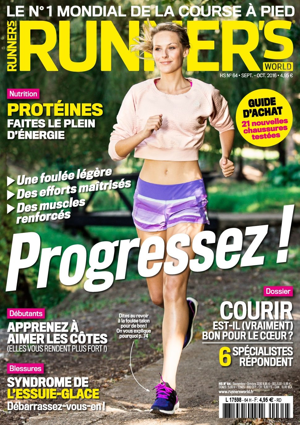 Runner's World N°64 - Septembre/Octobre 2016