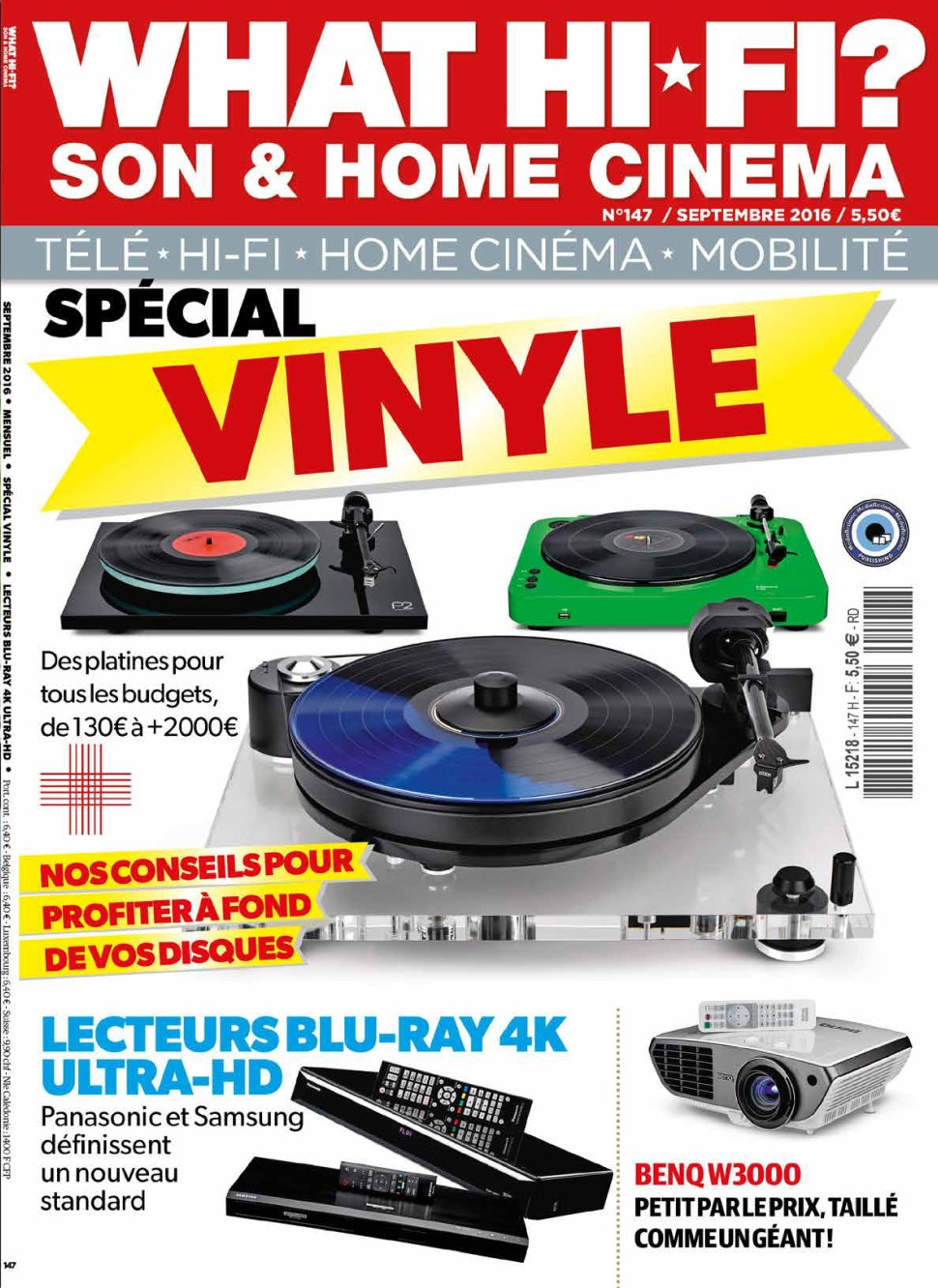 What Hi-Fi ? N°147 - Septembre 2016