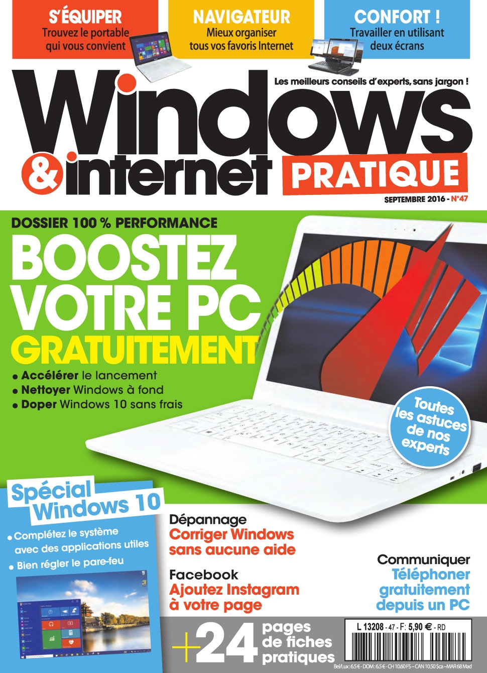 Windows & Internet Pratique N°47 - Septembre 2016