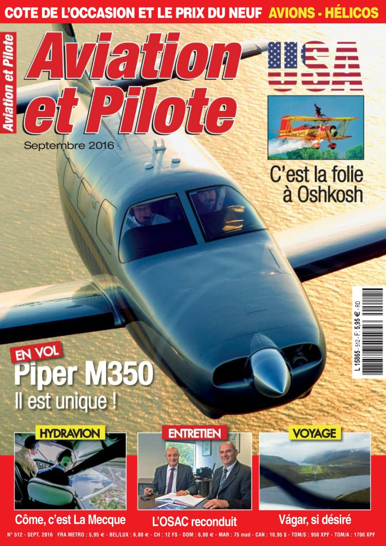 Aviation et Pilote - Septembre 2016