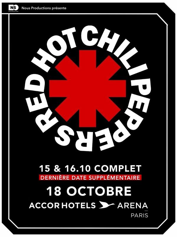Red Hot Chili Peppers - AccorHotels Arena