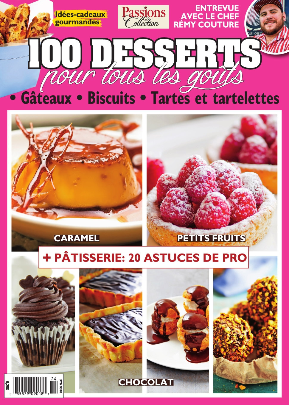 Passions Collection N°24 - 100 Desserts