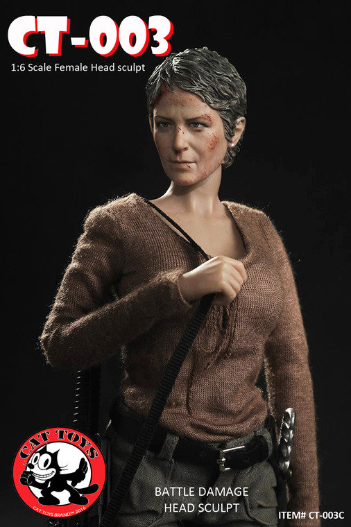 CAT TOYS - THE WALKING DEAD - CAROL (CT-003) L83j