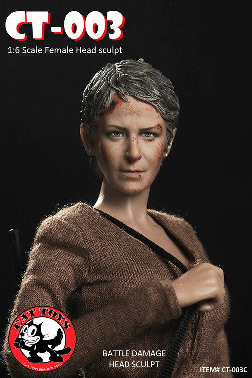 CAT TOYS - THE WALKING DEAD - CAROL (CT-003) P5r5