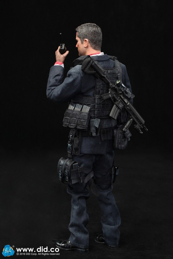 US SECRET SERVICE SPECIAL AGENT Special Edition- MARK (MA80119) Zl6n