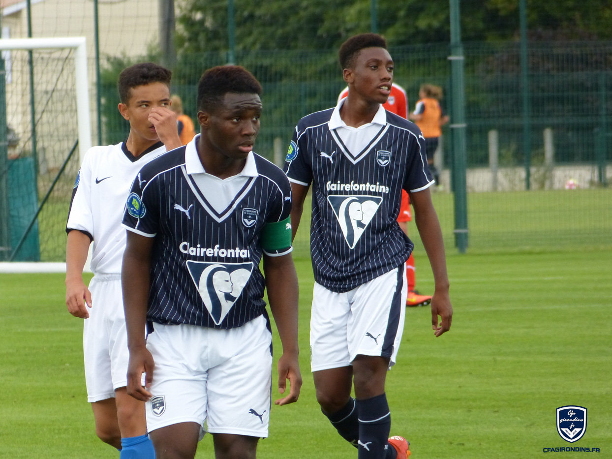 Cfa Girondins : Les U17 Nationaux calent encore - Formation Girondins