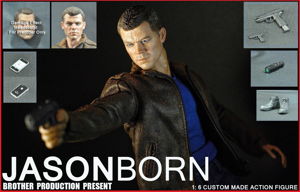 JASON BORN - JASON BOURNE Ffen