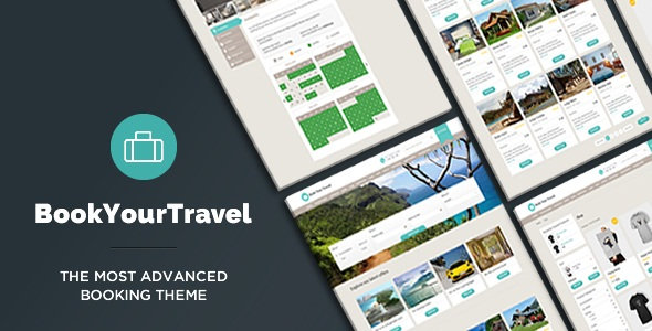 ThemeForest - Book Your Travel v7.16 - Online Booking WordPress Theme
