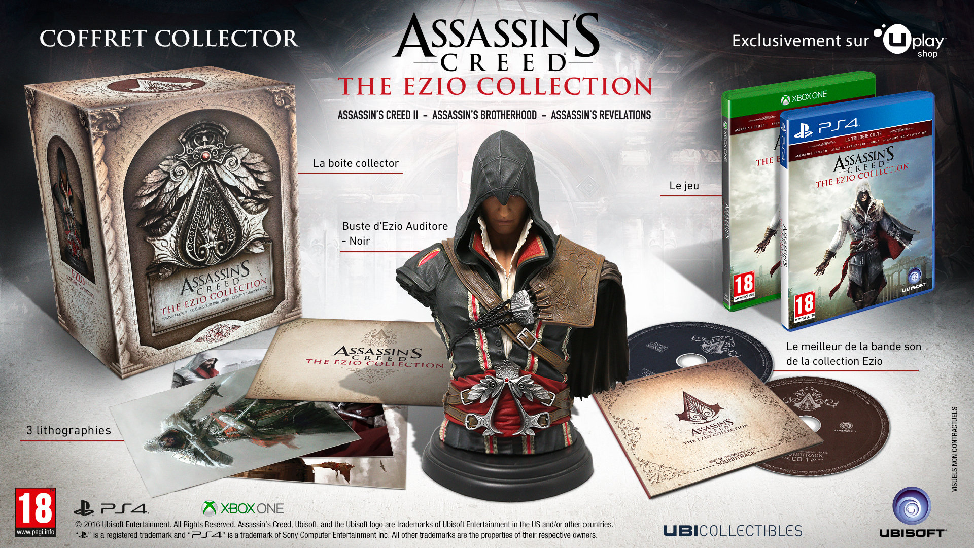 Assassin's Creed : The Ezio Colection
