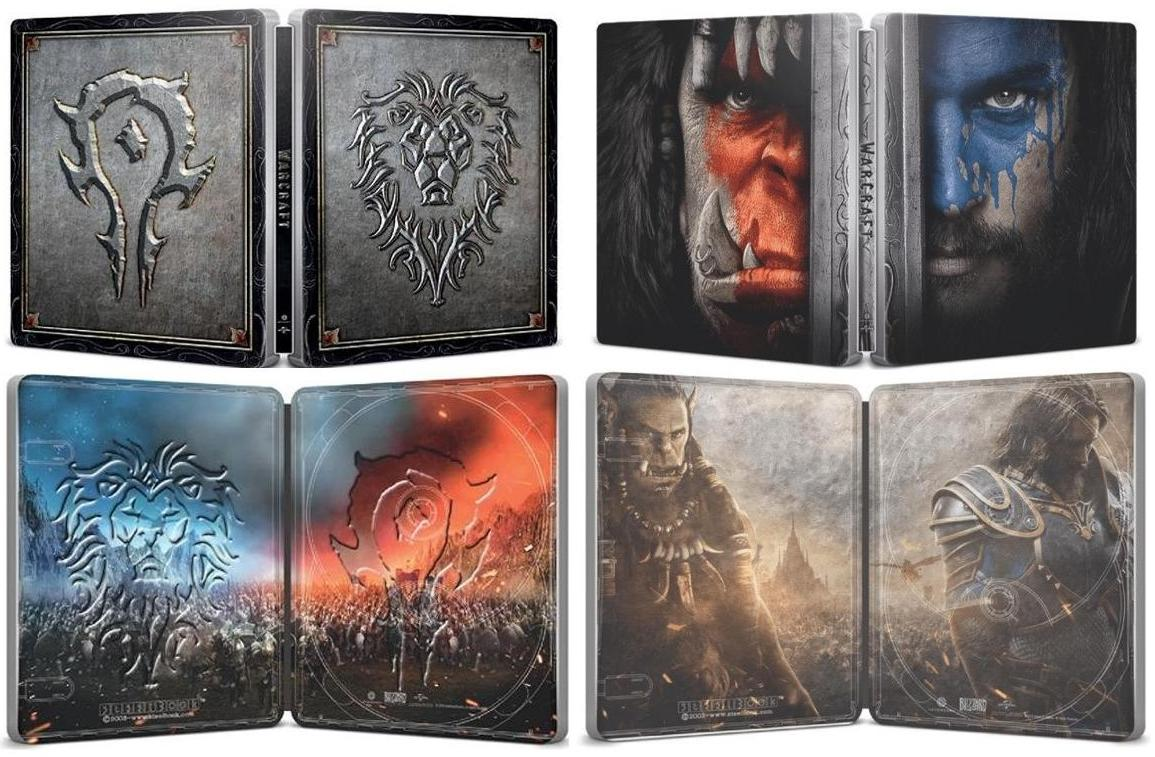Warcraft Le Commencement, Blu-Ray Steelbook