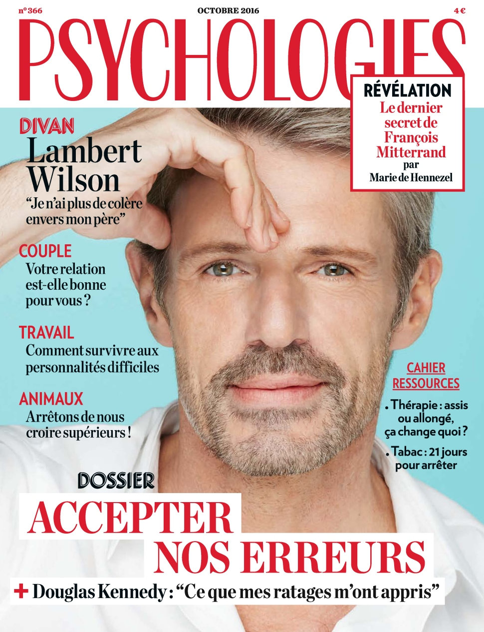 Psychologies magazine N°366 - Octobre 2016