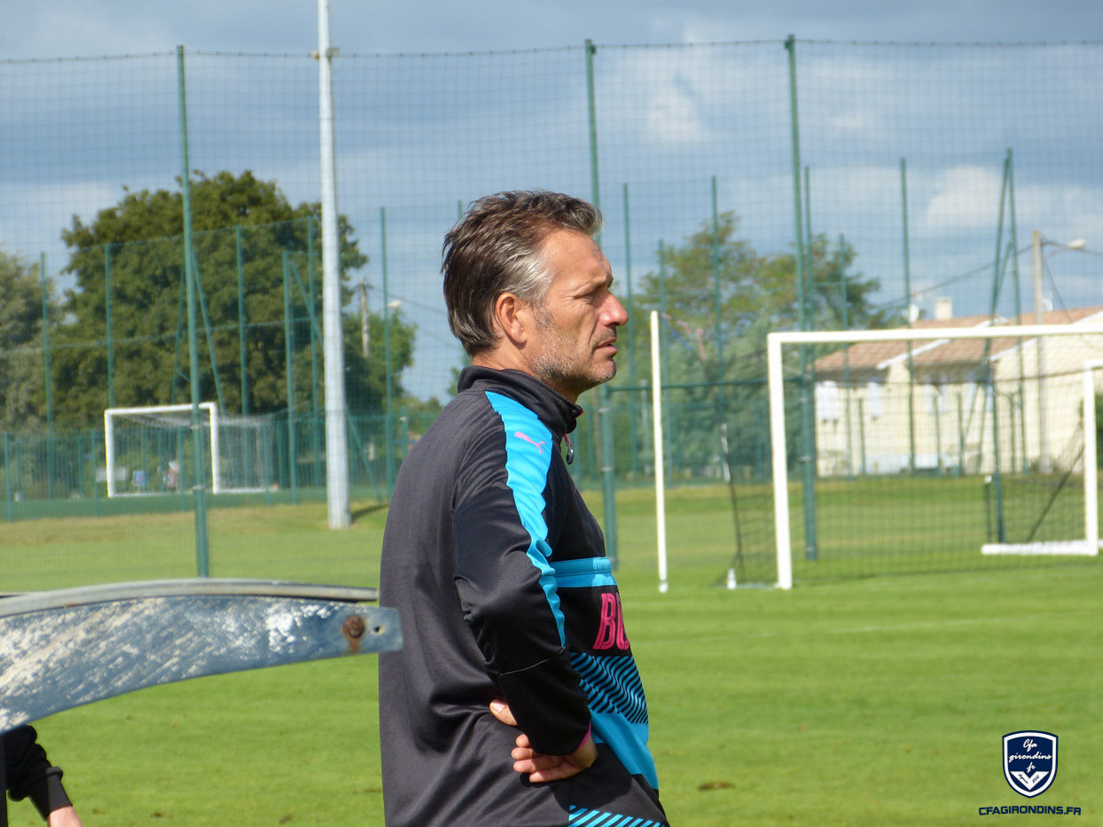 Cfa Girondins : Jean-Luc Dogon - « Faire les efforts ensemble » - Formation Girondins