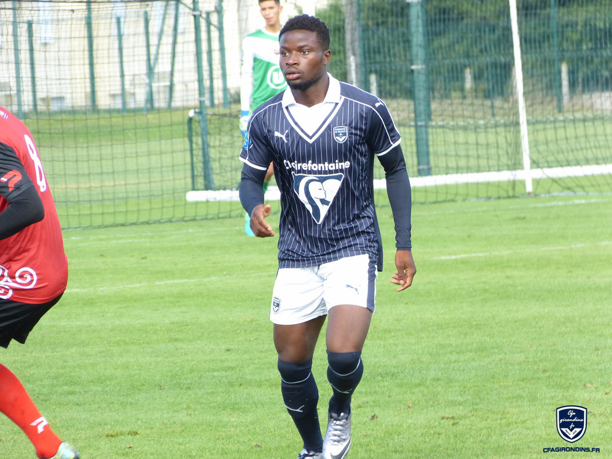 Cfa Girondins : Premier Talent Foot National pour Malhory Noc - Formation Girondins