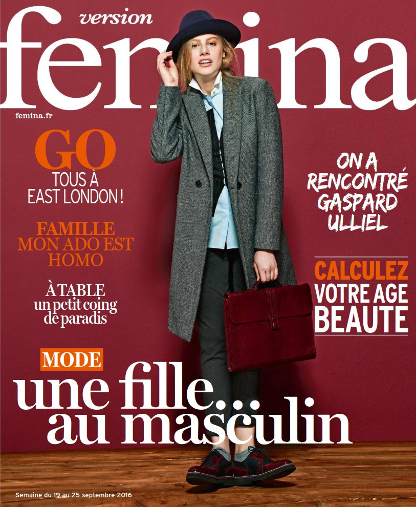 Version Femina - 19 au 25 Septembre 2016