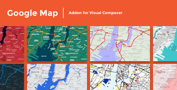 CodeCanyon - Google Map Addon for Visual Composer v1.0.0 - WordPress Plugin