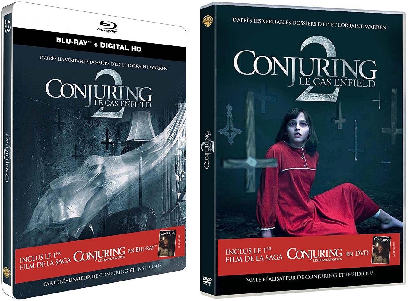 Conjuring 2 : Le Cas Enfield Blu-Ray et DVD