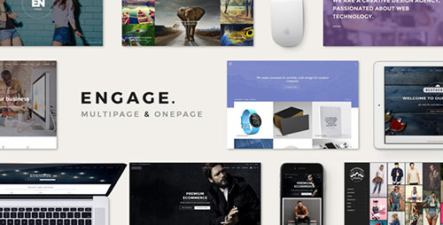 ThemeForest - Engage v1.5 - Creative Multipurpose HTML Theme