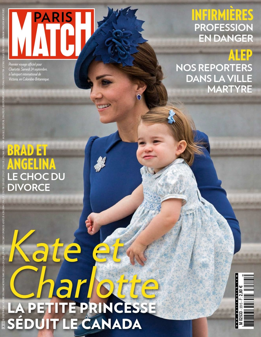 Paris Match N°3515 - 29 Septembre au 05 Octobre 2016