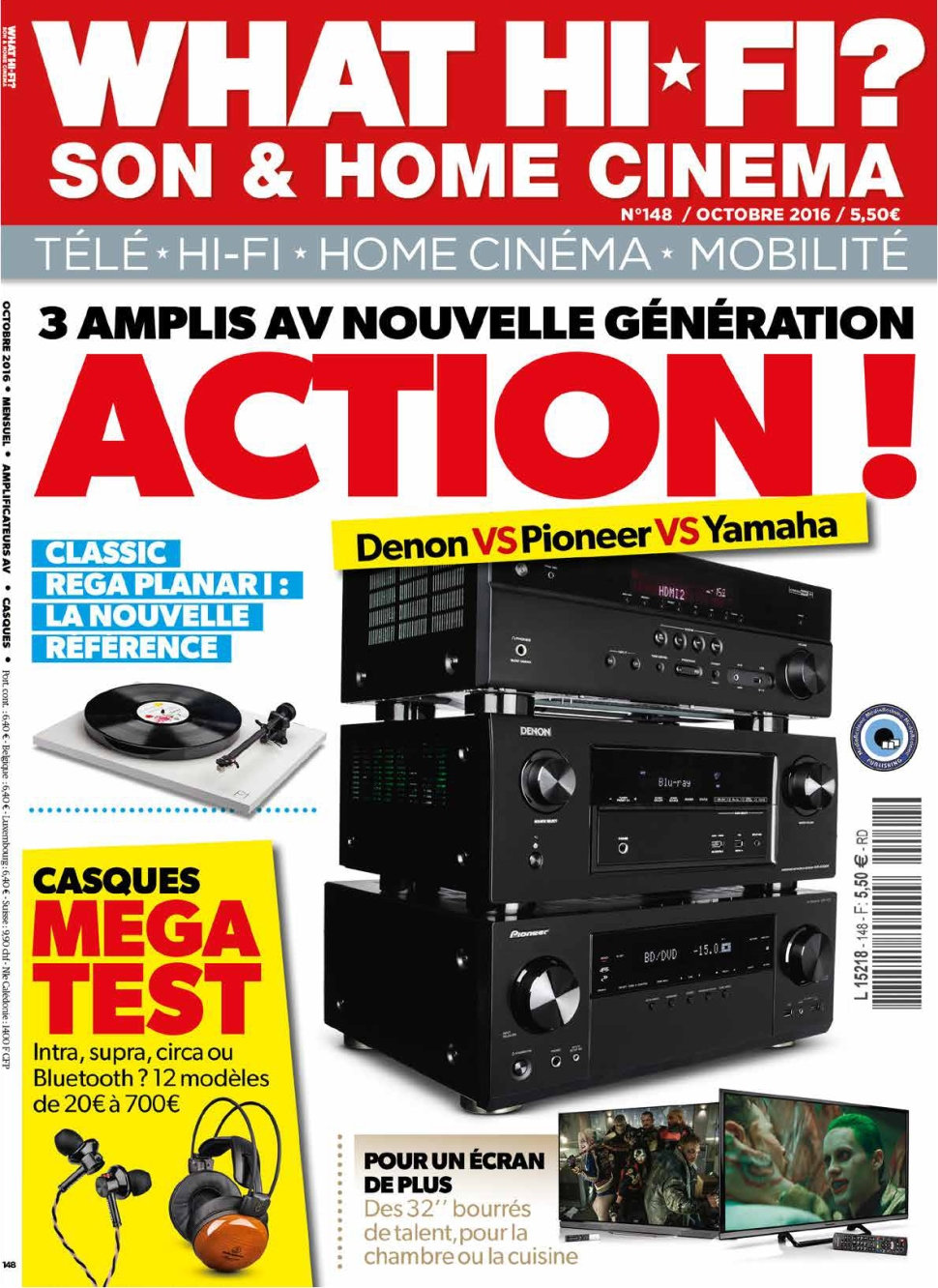 What Hi-Fi ? N°148 - Octobre 2016