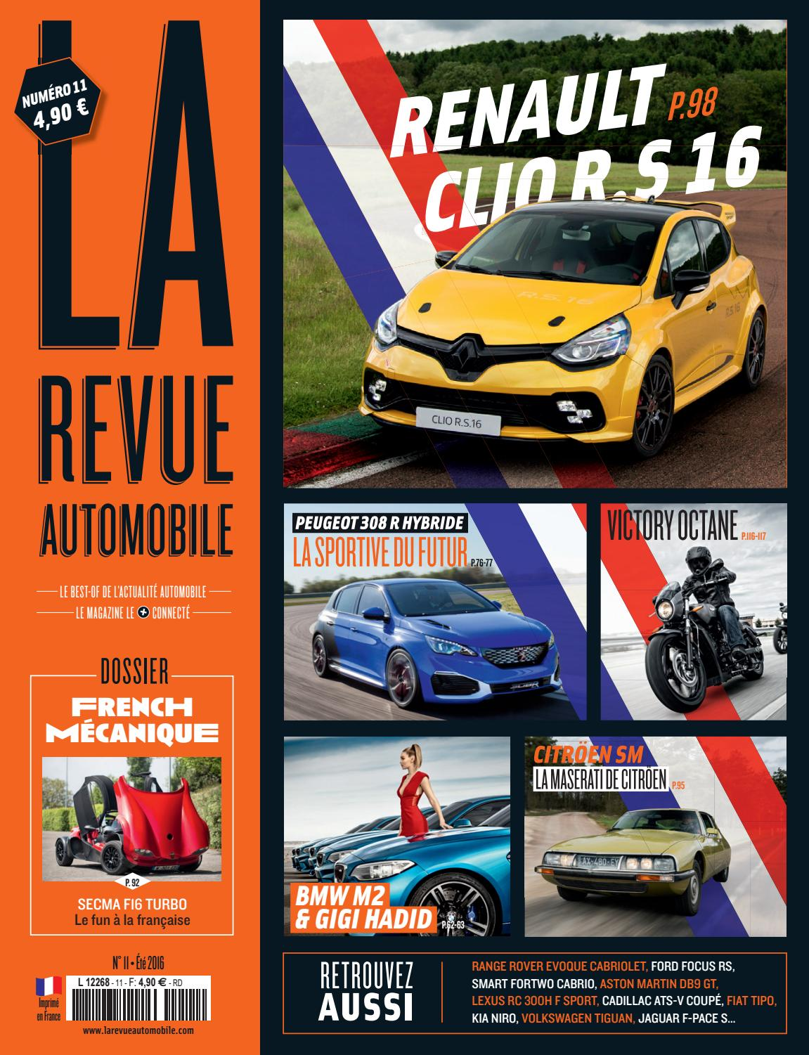 La Revue Automobile N°11 - Made in France 2016