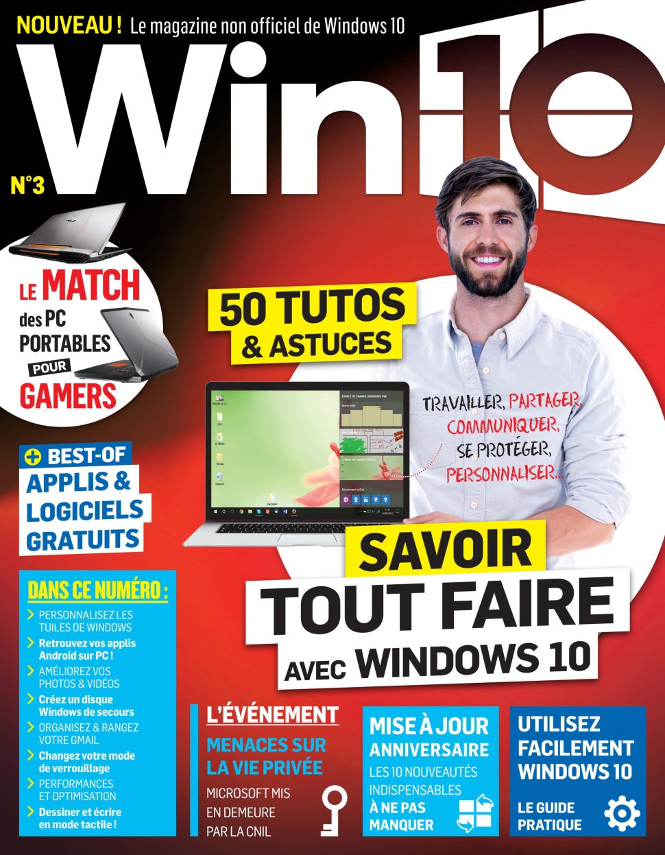 Win 10 N°3 - Octobre/Novembre 2016