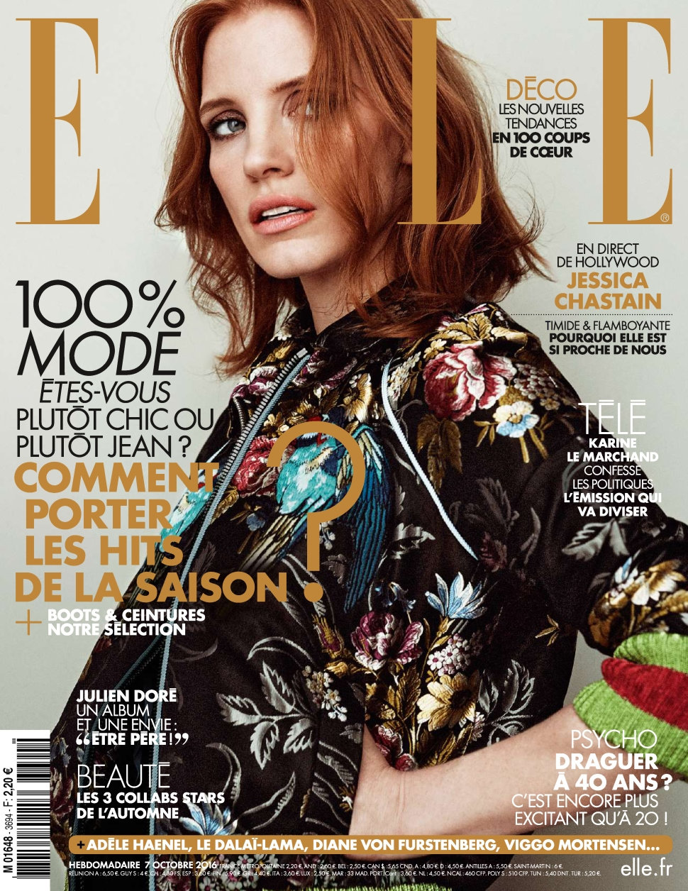 Elle France N°3694 - 07 au 13 Octobre 2016