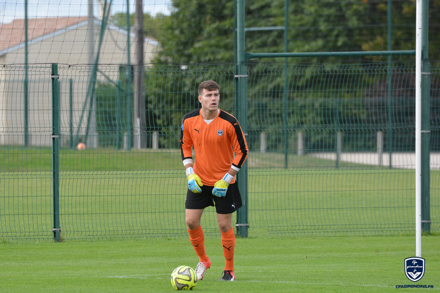 Cfa Girondins : Poussin, Youssouf et Romil en stage avec les pros - Formation Girondins