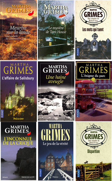 Commissaire Richard Jury - Martha Grimes 22 ebooks