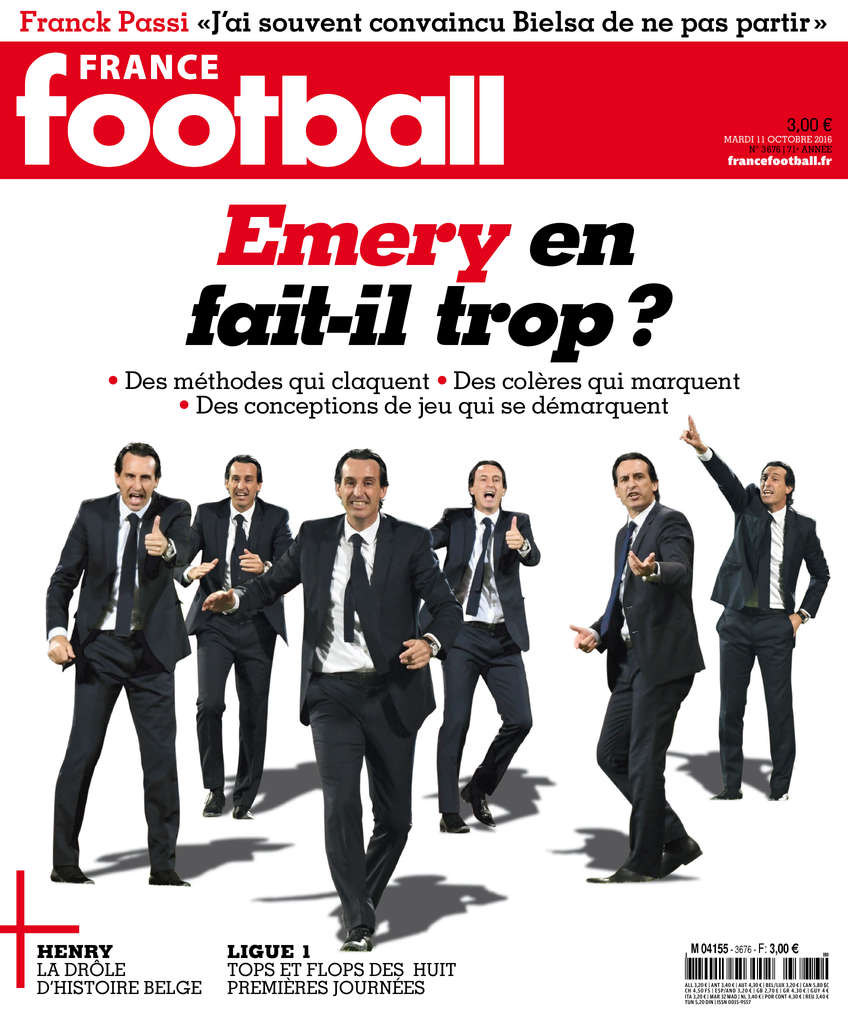 France Football N°3676 - 11 Octobre 2016