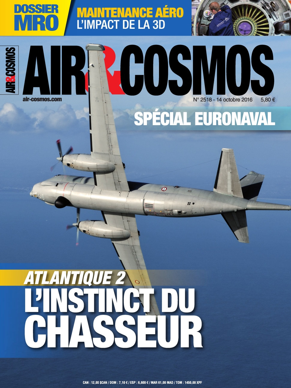 Air & Cosmos N°2518 - 14 Octobre 2016