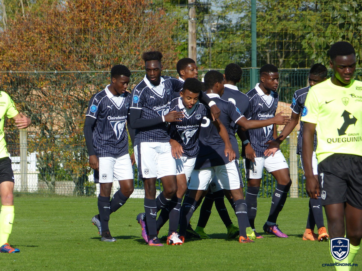 Cfa Girondins : Belle victoire contre Brest (5-1) - Formation Girondins