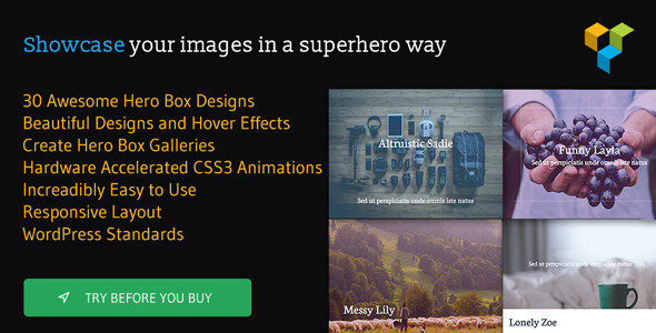 CodeCanyon - Hero Boxes for Visual Composer v1.1 - WordPress Plugin